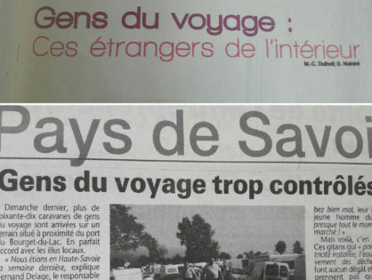 Aire d'accueil des gens du voyage Bourget-du-Lac